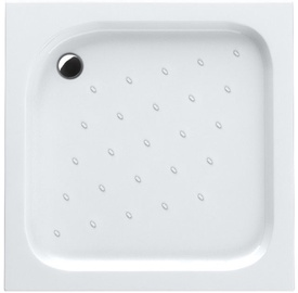 Schaedler Economic Shower Tray 90x16x90 Quad White