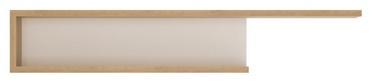 Meble Wojcik Lyon LYOP02 Hanging Shelf White/Riviera Light Oak