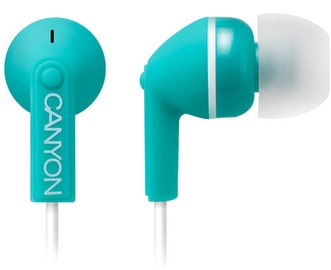Canyon In-Ear Earphones Green CNS-CEP03G