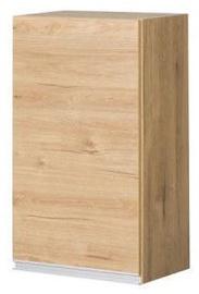 Верхний кухонный шкаф Bodzio Monia 40 Right Brown, 400x310x720 мм