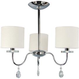 Candellux Estera 3X40W E14 Hanging Ceiling Lamp Chrome