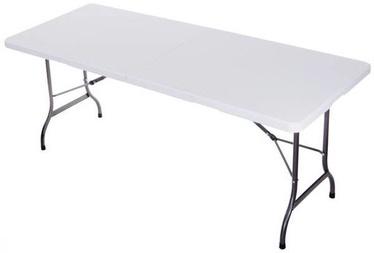 Стол для кемпинга GoodHome ZK-180S White, 180 x 18070 x 74 см