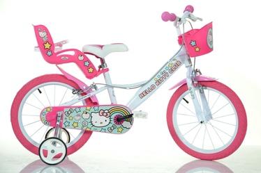 Dino Bikes Hello Kitty 144R-HK 14 White
