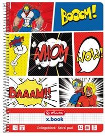 Herlitz Spiral Notepad A4/80p Comic