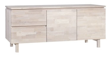 Home4you Oxford Chest Of Drawers 180x42x72cm Oak