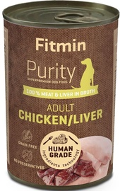 Fitmin Purity Dog Tin Chicken & Liver 400g