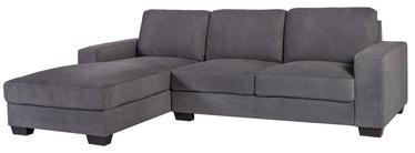 Угловой диван Home4you Kendra 21566, серый, левый, 268 x 165 x 84 см
