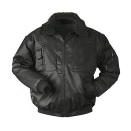 Winter Pilot Jacket Black M