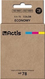 Actis Cartridge KH-78 For HP 47ml Multicolor