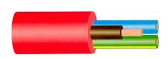 Lietkabelis OWYŽO/H05VV-F, 5 x 4 mm²