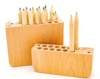 Avatar Wooden Pencilcase With Pencils 12pcs