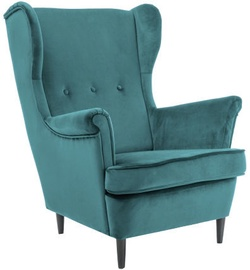 Signal Meble Lord Velvet Armchair Turquoise