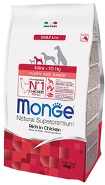 Monge Daily Line Mini Puppy and Junior Rich in Chicken 0.8kg