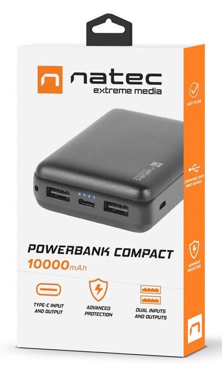 Natec Extreme Media Compact 10000mAh Black