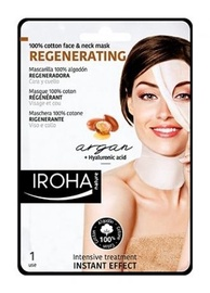 Iroha Nature Regenerating Argan Oil Cotton Face & Neck Mask 30ml