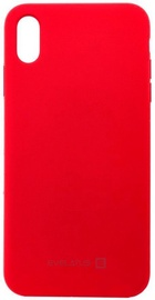 Evelatus Silicone Back Case For Apple iPhone XR Red