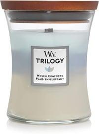 Ароматическая свеча WoodWick Woven Comforts Trilogy Candle, 275 г