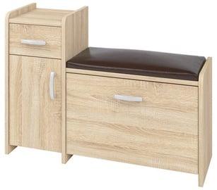 Шкаф для обуви ML Meble PIK02NL Sonoma Oak, 900x300x660 мм