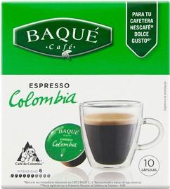Cafe Baque Colombia Espresso komposteeritavad kohvikapslid, 10 kapslit