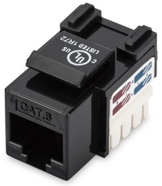 Digitus Keystone Module CAT6 UTP RJ45 Black