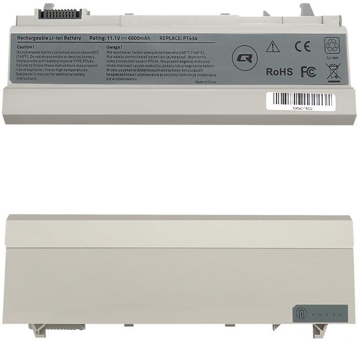Qoltec Long Life Notebook Battery For Dell E6400/E6500 6600mAh