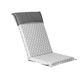 Home4you Florida Chair Cover 48x115x6cm Grey