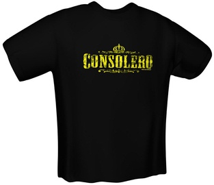GamersWear Consolero T-Shirt Black M