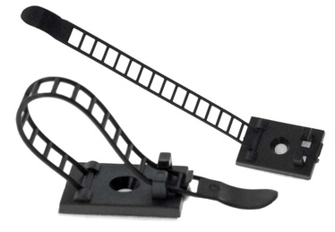 Ohne Hersteller Cable Clamp x 10 64mm Black