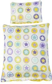 Smallstuff Doll Bedding Set Yellow Circle Stars