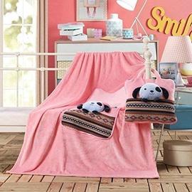 Одеяло DecoKing Cuties Pink Puppy, 110x160 см