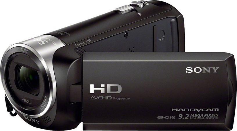 Sony HDR-CX240 E Black
