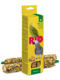 Mealberry Rio Sticks For Parrots Honey & Nuts 2x90g