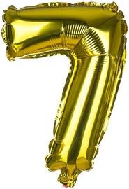 Banquet Foil Balloon 7 Gold 30cm