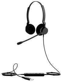 Kõrvaklapid Jabra Biz 2300 Duo Black