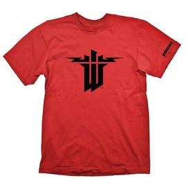 Gaya Entertainment T-Shirt Wolfenstein Symbol Red M