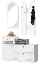 Maridex Hallway Unit Maridex 01 White
