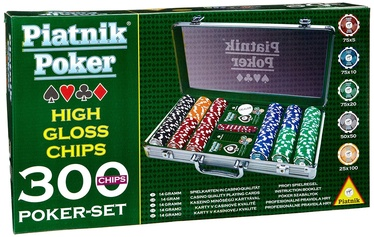 Настольная игра Piatnik High Gloss Chips Poker Set 7903