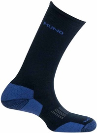 Mund Socks Cross Country Skiing Black/Blue 42-45