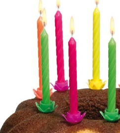 Susy Card Candles 12pcs for Birthday Cakes