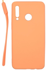 Evelatus Soft Touch Back Case With Strap For Huawei P30 Lite Pink