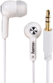 Hama Basic4Music In-Ear Earphones White