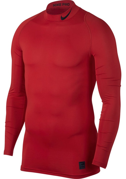 Nike Men's Pro Cool Compression LS Top 703088 657 Red 2XL