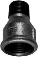 """STP Fittings 2160210/246 Reducing Connector Black 3/4""""Fx1/2""""M"""