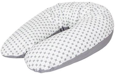 Ceba Baby Feeding Pillow Physio Multi Jersey Diamonds & Circles