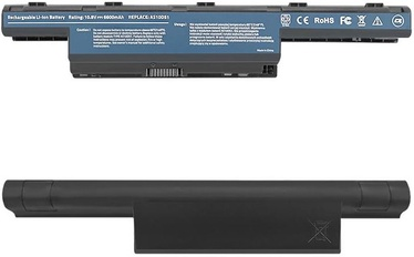Qoltec Long Life Notebook Battery For Acer Aspire 4741 6600mAh