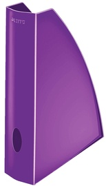 Leitz WOW Magazine File Purple