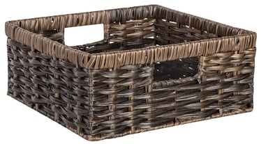 Home4you Basket Rubys 1 30x30x13cm Dark Brown