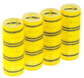 Zenner Pack Of 4 Curlers 25mm Yellow