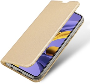 Dux Ducis Skin Pro Bookcase For Samsung Galaxy A51 Gold
