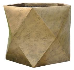 Home4you Flowerpot Cubo-1 D55xH45cm Antique Gold